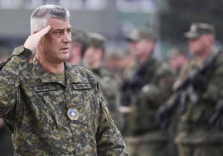 Preşedintele Kosovo a fost inculpat pentru crime împotriva umanității. Și-a aflat verdictul în avion, în drum spre Casa Albă