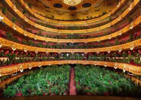 Concert cum nu s-a mai văzut la Opera din Barcelona. Sala a fost plină, însă nu de oameni