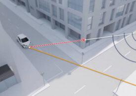 O nouă tehnologie pentru maşini detectează obiectele în mişcare de după colţ