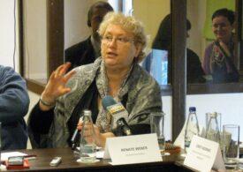 Renate Weber răspunde PNL. Anunță că nu poate beneficia de pensie specială, pentru că nu îndeplinește condițiile