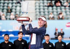 Prima surpriză din tenisul feminin de la reluarea meciurilor