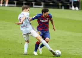 Pas greșit important în lupta la titlu făcut de Barcelona