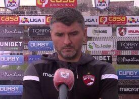 Cum explică antrenorul lui Dinamo eșecul lamentabil cu Sepsi. Vali Lazăr, în lacrimi după meci