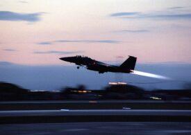 Un avion american de luptă s-a prăbușit în Marea Nordului. UPDATE: Pilotul a murit