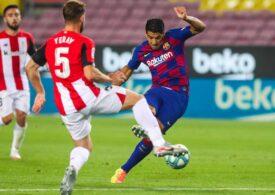 Victorie chinuită pentru FC Barcelona