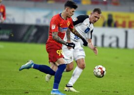 Liga 1: FCSB face egal după un final incredibil cu Gaz Metan și își ia adio de la titlu