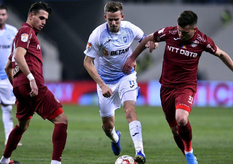Liga 1: Craiova învinge dramatic CFR Cluj și relansează lupta la titlu