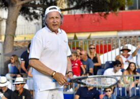 Regretul lui Ilie Năstase dupa debutul turneului de tenis din București
