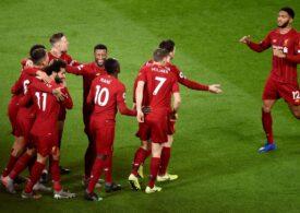 Liverpool s-a împiedicat de locul 19 din Premier League