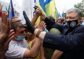Parchetul ucrainean a renunţat să ceară încarcerarea fostului preşedinte Petro Poroşenko