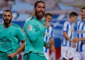 Real Madrid a urcat pe primul loc în Spania