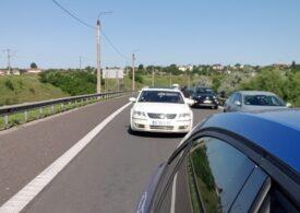 A început mini-vacanța: Coloane de mașini stau pe A1, DN1 și DN 7