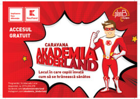 Începe Caravana Akademia Kinderland: școala mobilă de vară despre alimentație sănătoasă, pentru cei mici