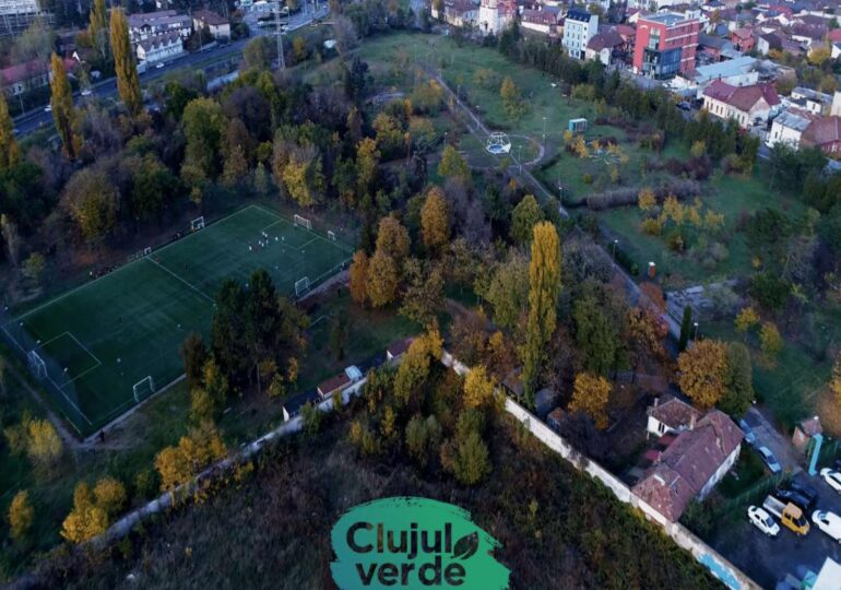"""Boc face """"Clujul verde"""" - 100.000 de arbori și parcuri noi în fiecare cartier"""