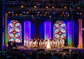 Corul Madrigal anunță reprogramarea primului concert în aer liber. Imagini cu amfiteatrul din Parcul Național