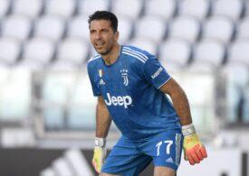 Gianluigi Buffon a stabilit un nou record de meciuri jucate în Serie A