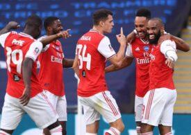 Arsenal, prima finalistă a Cupei Angliei după o mare surpriză
