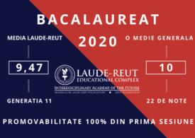 Media 10 la bacalaureat – Liceul Laude-Reut