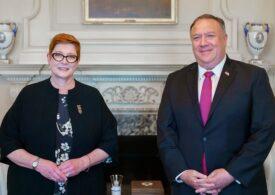 """Statele Unite și Australia anunță o """"alianță indestructibilă"""" împotriva Chinei"""