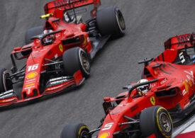 Reacție dură a lui Vettel după o nouă ciocnire cu colegul său de la Ferrari în Formula 1