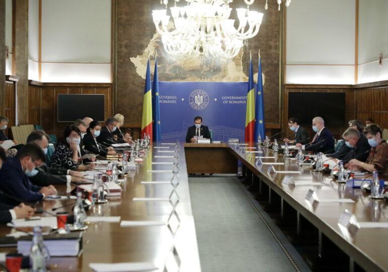 Ședința de Guvern: două scheme de ajutor de stat, modificate