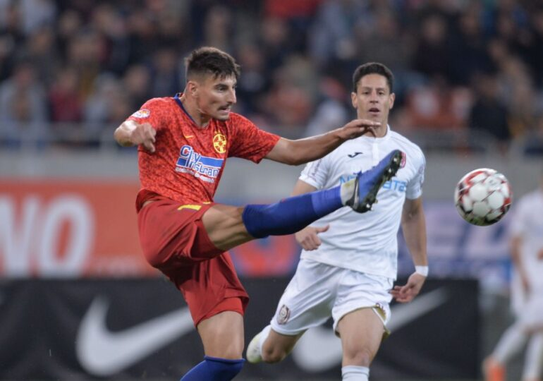 CFR Cluj invinge greu formația de tineri a FCSB-ului