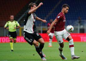 Meci nebun în Italia, între AC Milan și Juventus