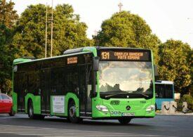 Primele autobuze hibrid Mercedes circulă prin Bucureşti