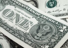 Curs valutar: Euro şi lira stau pe loc, iar dolarul tot scade