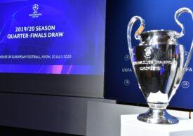 S-au tras la sorți meciurile din sferturile de finală ale Ligii Campionilor