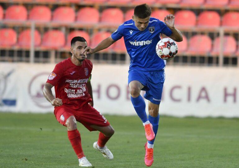 Liga 1: O nouă înfrângere suferită de Chindia Târgoviște