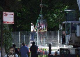 Două statui ale lui Cristofor Columb au fost înlăturate la Chicago, la solicitarea primăriei