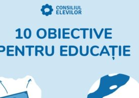 Elevii lansează 10 obiective pentru educație și cheamă partidele politice la dezbatere