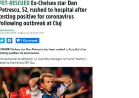 The Sun, după ce Dan Petrescu a fost internat cu coronavirus: Iată ce ne transmit sursele de la București