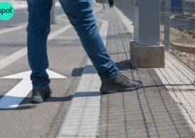 La o lună de la inaugurare, trotuarele de pe Șoseaua Fabrica de Glucoză rămân periculoase pentru pietoni și bicicliști. Primăria promite, dar soluția vine de la pasionații de infrastructură