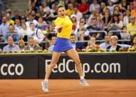 Simona Halep câștigă prima sa partidă de la revenirea pe terenul de tenis