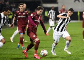 Liga 1: CFR Cluj mai face un pas greșit și Craiova stă acum doar la mâna ei pentru a cuceri titlul