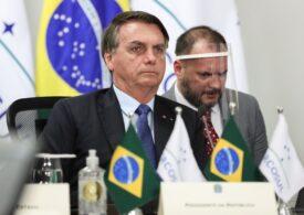 Președintele Braziliei, care nu credea în coronavirus, recunoaște că a fost testat pozitiv