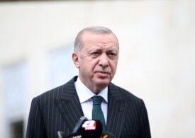 Erdogan a făcut o vizită simbolică la fosta bazilică Sfânta Sofia din Istanbul - când va avea loc prima slujbă musulmană