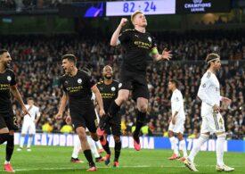 Meciul Manchester City - Real Madrid, din Liga Campionilor, în mare pericol, din cauza carantinei