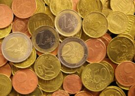 Curs valutar: Euro, dolarul şi lira scad