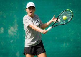 Simona Halep revine pe terenul de tenis cu un nou look (foto în articol)