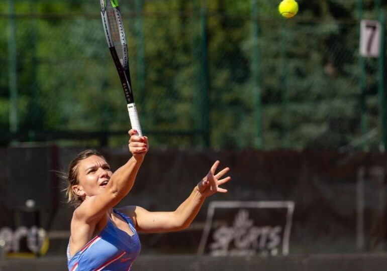 Reacția Simonei Halep după meciul disputat la Cluj