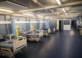 """Spitalul modular construit de Asociația """"Dăruieşte viaţă"""" a fost, în sfârșit, operaționalizat de Guvern: Va avea ventilatoarele necesare bolnavilor grav de Covid-19"""