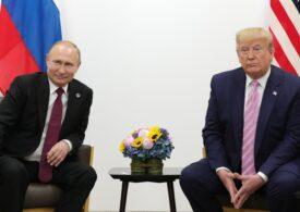 Donald Trump și Vladimir Putin au discutat la telefon despre controlul armamentului nuclear și relaţiile comerciale