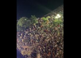 Aglomerație mare la Nisa, la un concert organizat chiar de primărie (Video). Se cere folosirea măștilor și în exterior