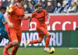 Bicfalvi, la primul gol în noul sezon al campionatului Rusiei