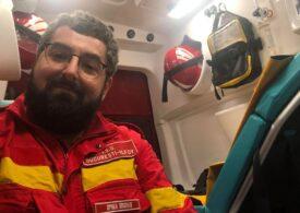 """De la Cotroceni, paramedic pe ambulanțe SMURD, doctorand """"pe bune"""" și voluntar: """"Eu cred în puterea comunității"""" - Interviu"""