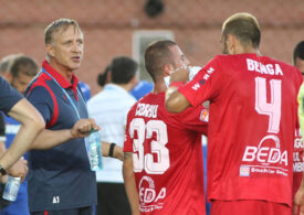 Chindia Târgoviște câștigă clar prima manșă a barajului de menținere în Liga 1