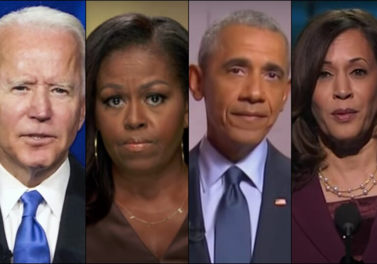 Discursurile care pot schimba America. Joe Biden, soții Obama și Kamala Harris și-au unit forțele să-l învingă pe Trump